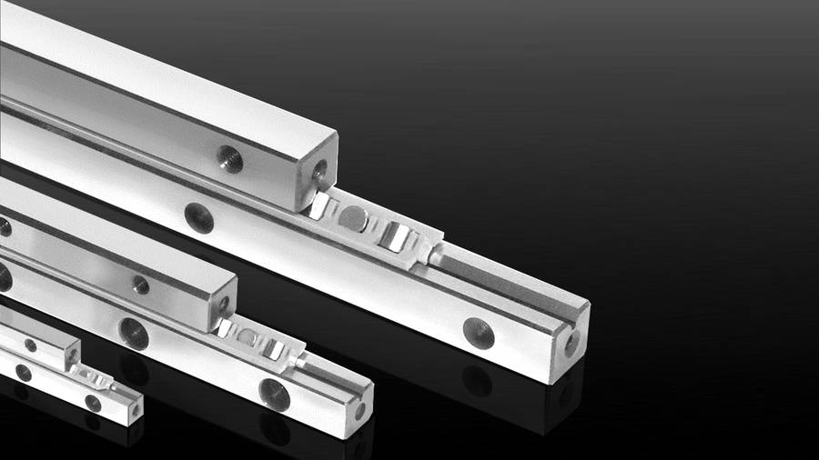 Cross-roller guide rails Type R + K | IEF-Werner