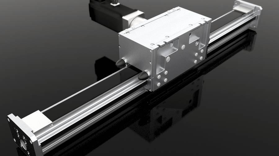 Auslegerachsen mit Zahnriemenantrieb Modul 160/20 ZR10 | IEF-Werner