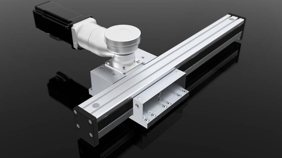 Auslegerachsen mit Zahnriemenantrieb Modul 60/33 | IEF-Werner