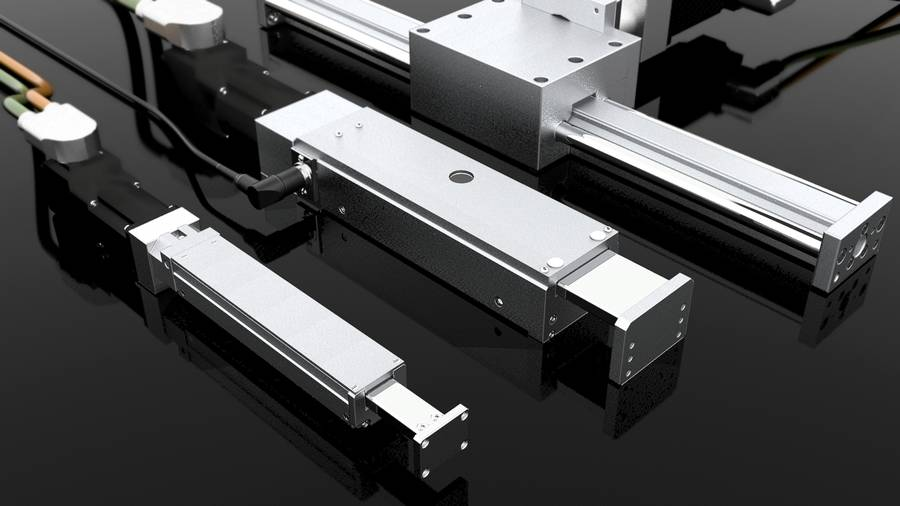 Linear drives Cantilever axes | IEF-Werner