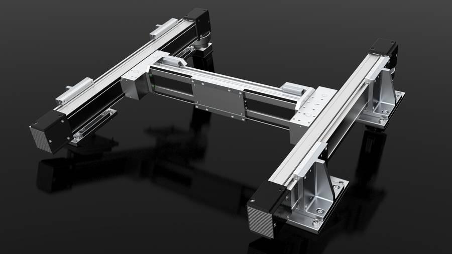Positioningsystem H-Portal | IEF-Werner