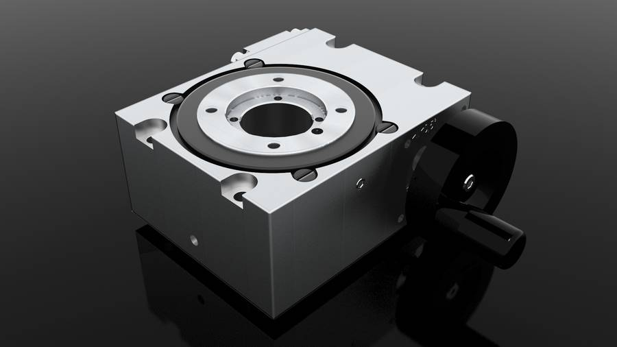 Rotary tables MDV with hollow shaft | IEF-Werner