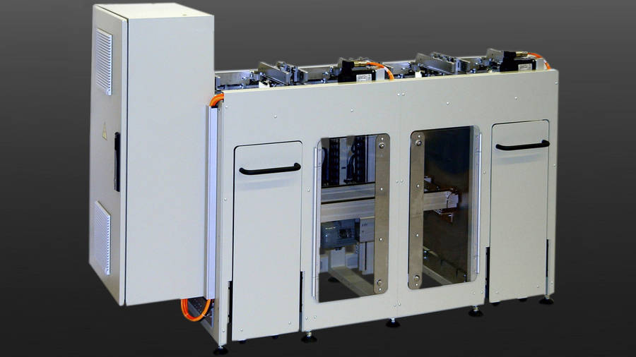 Double palletisers | IEF-Werner