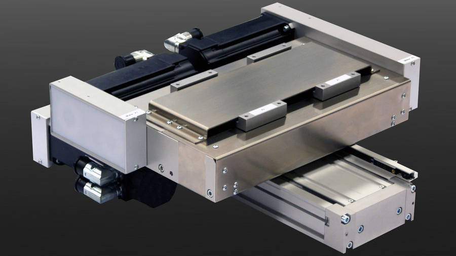 Positioning system Stainless steel design | IEF-Werner