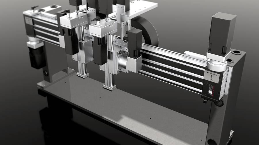 Positioniersystem für Solarzellen | IEF-Werner