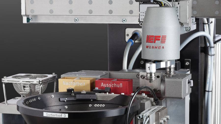 Special solution Micro-assembly cell sF 420 | IEF-Werner
