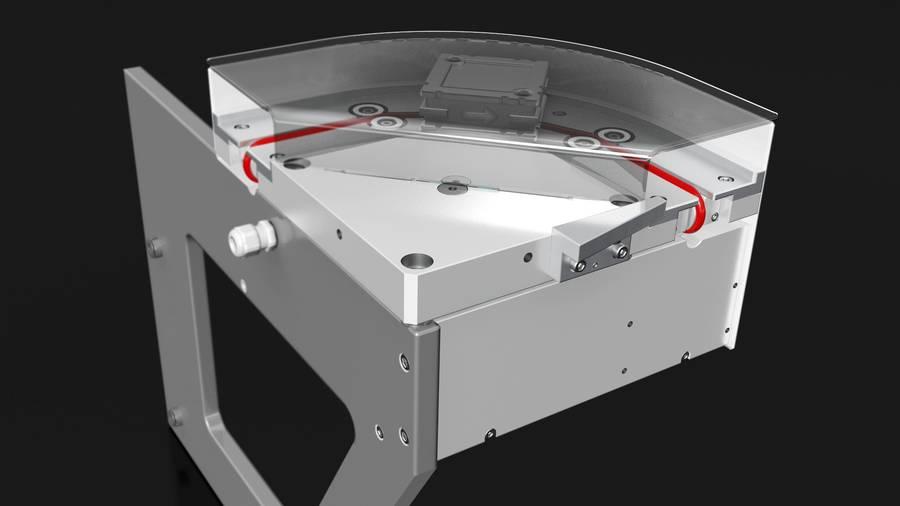 smallFLEX Kurve 90° / 180° | IEF-Werner