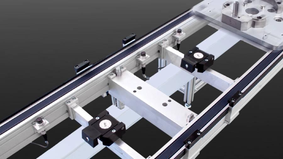 posyART Stopp- und Zentrierstation | IEF-Werner