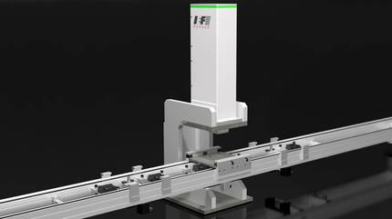 Joining Module aiPRESS JM with transport system   IEF-Werner