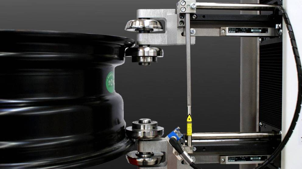 Wheel Measuring Machine Laboratory: radial run-out, axial run-out