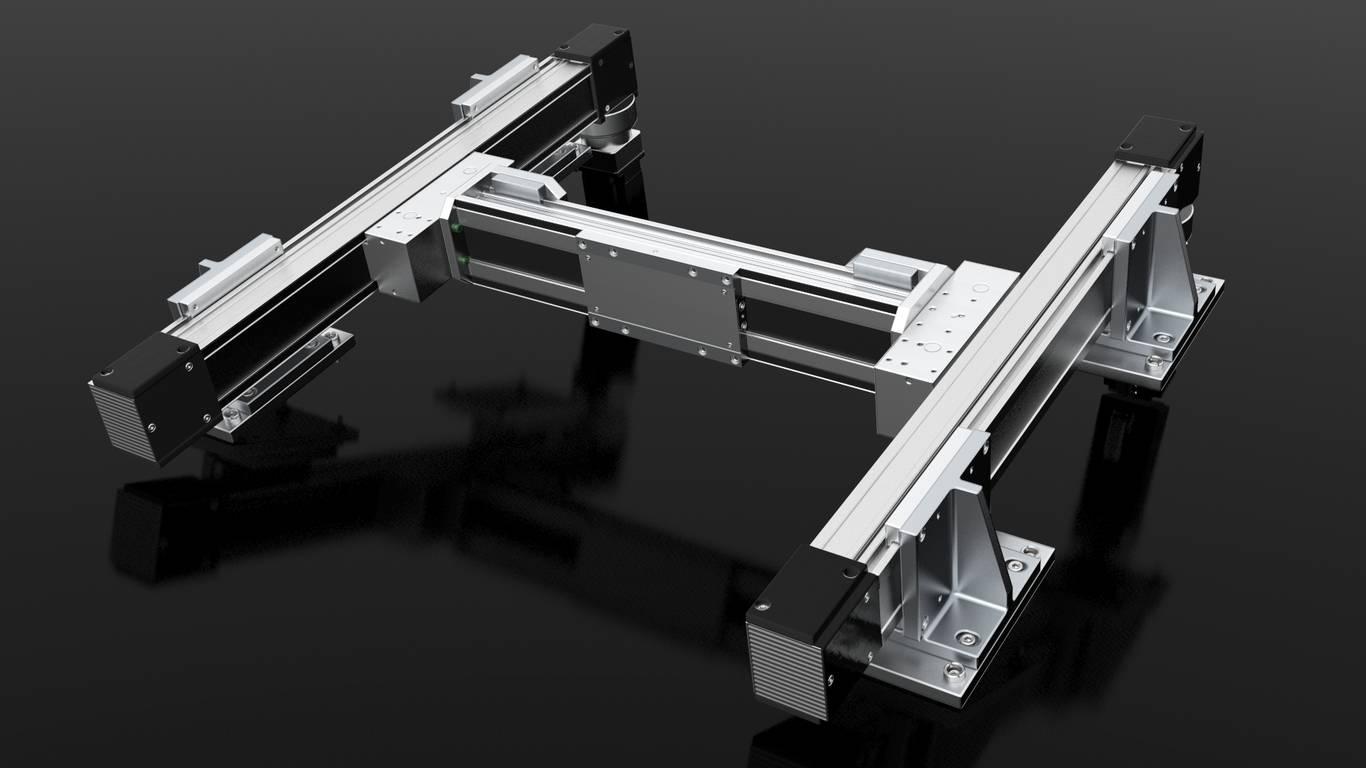 Positioniersystem H-Portal X/Y-System | IEF-Werner