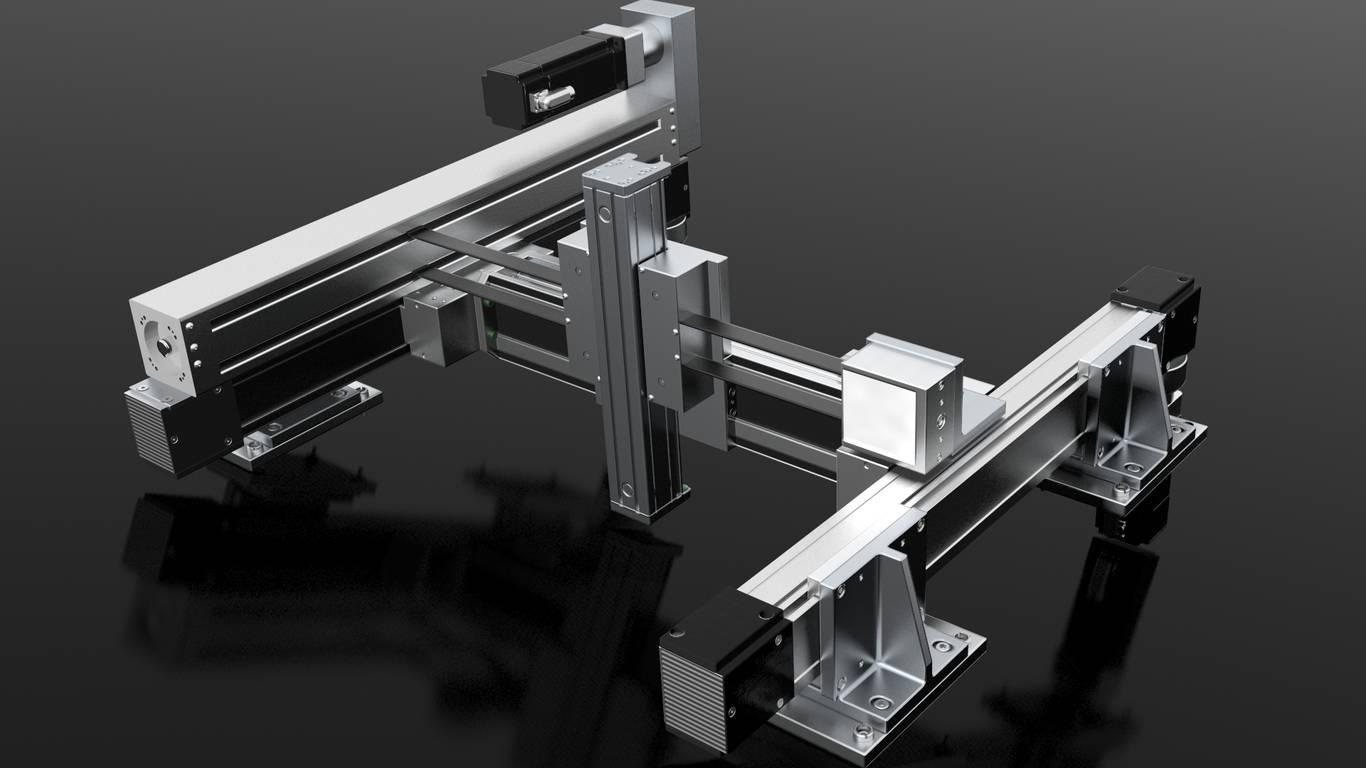 Positioniersystem H-Portal X/Y/Z-System | IEF-Werner