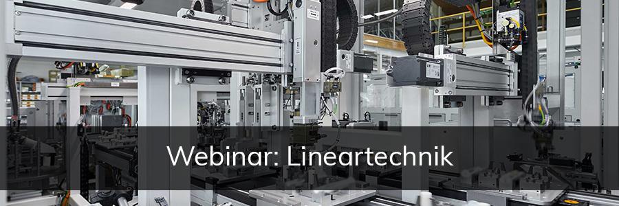 Webinar Lineartechnik | IEF-Werner