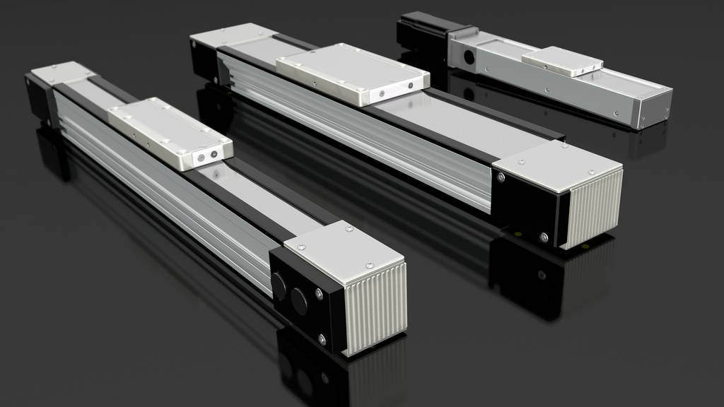 Linear drives with meltal strip cover | IEF-Werner