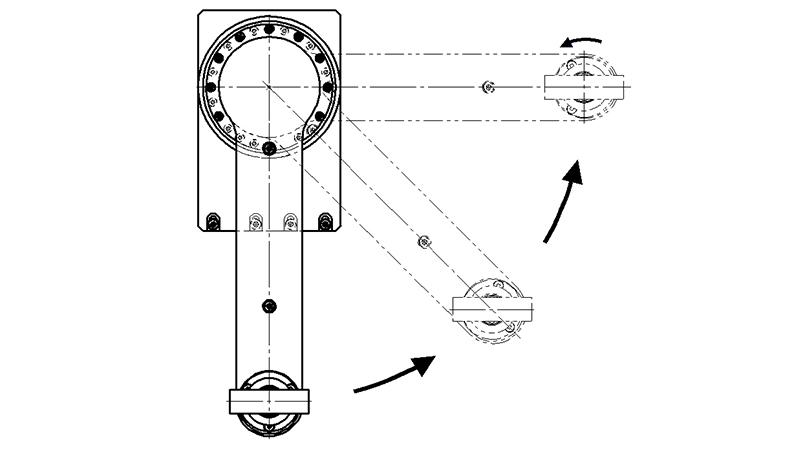 Swivel arm module rotaryARM | IEF-Werner