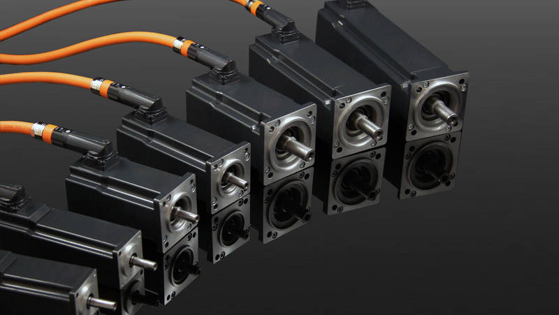 Servomotor mit Einkabeltechnologie | IEF-Werner
